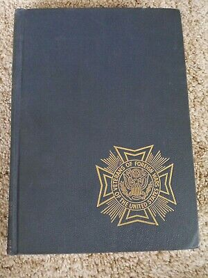 1946 ed Veterans Foreign War military USA Pictorial History of WWII photos VOL 4