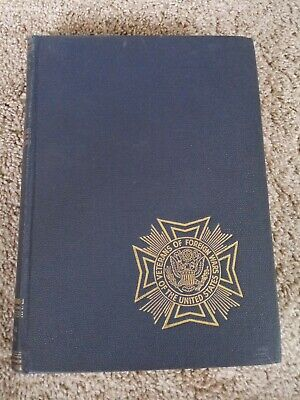1946 ed Veterans Foreign War military USA Pictorial History of WWII photos VOL 3