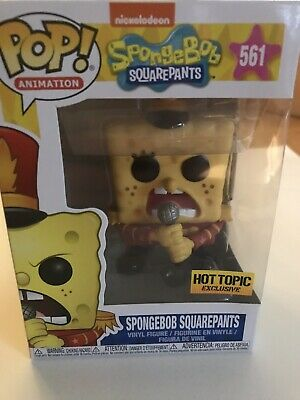 Spongebob Squarepants Sweet Victory Hot Topic Exclusive Funko POP