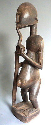 Ancestor figure Dogon male with pipe · Ahnenfigur männlich · Statue DOGON · MALI