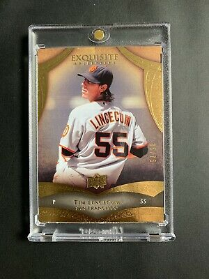2010 UD Upper Deck Exquisite Tim Lincecum SUPER RARE SSP