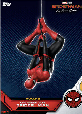 Topps Marvel Collect Card Trader Spider-Man Far From Home Character Art + Award