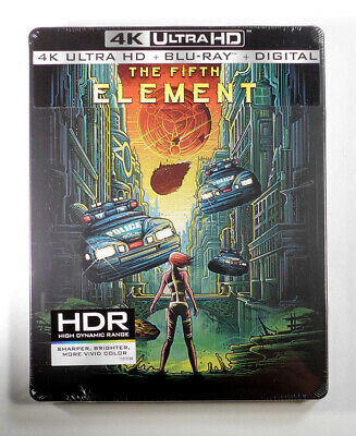 The Fifth Element 4K Ultra UHD Best Buy Steelbook New - Factory Sealed