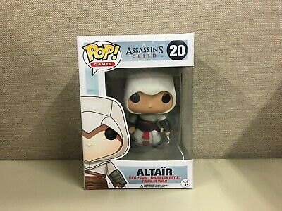 Funko Pop! Games: Assassin's Creed - Altair #20 Vaulted New In Box