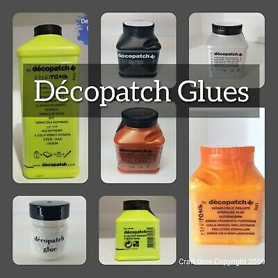 Decopatch Glue, Decoupage Glue, Glossy Glue, Paperpatch, Varnish