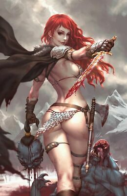 "Red Sonja Birth Of The She-Devil #1 Kendrick ""Kunkka"" Lim Virgin Ltd 500 Variant"