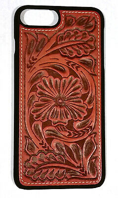 release date: d3eb8 609a9 IPHONE 8+ TOOLED Leather Snap-On Case western style
