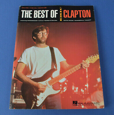 Eric Clapton Happy Xmas Sheet Music Piano Vocal Guitar SongBook NEW 000284850