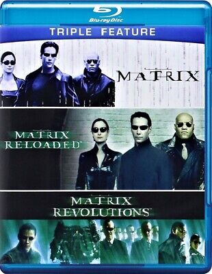 The Complete Matrix Trilogy (Blu-ray Disc, 2014, 3-Disc Set)