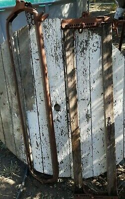 Antique Cow Stanchions 50 00 Picclick
