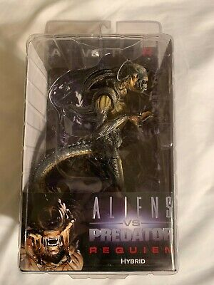 Neca Alien Hybrid Predalien Aliens vs Predator Requiem OPEN MOUTH Version (VHTF)
