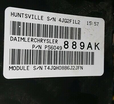 2006 dodge 56049889 ram 1500 fuse box totally integrated power module