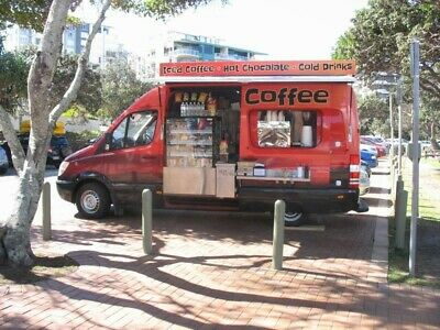 Coffee Van / Food Truck / Mobile Cafe. Reduced price. Below replacement cost.