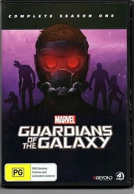 Guardians of the Galaxy. Complete season one (4 DVD Set) - Region 4