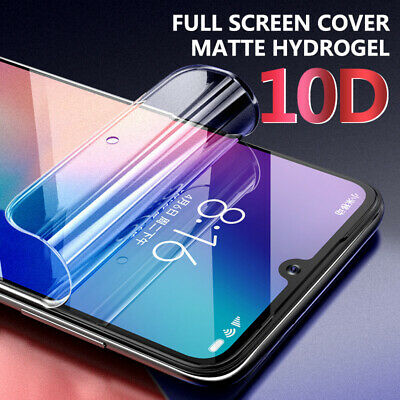 5PCS 10D Frosted Matte Full Cover Screen Protector For Xiaomi Redmi Note 7 Mi 9