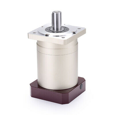 2 stage planetary reducer 15:1 to 100:1 for NEMA23 stepping motor shaft 6.35mm