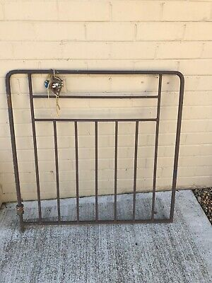 Wrought Iron 1950's Vintage Style Gate