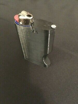 All In One DNK Dugout Lighter Combo With Self Cleaning Pipe