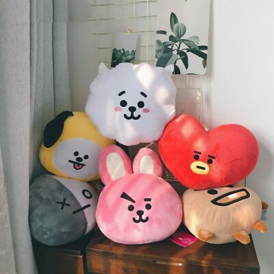 Lovely Bangtan Boys BTS bt21 Plush Pillow Toy TATA VAN COOKY CHIMMY SHOOKY KOYA@