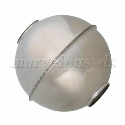 Silver Tone 52mm Outside Diameter 15mm ID Float Switch Ball Stainless Steel