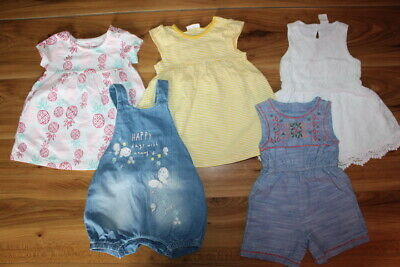 NEXT F&F Mothercare H&M girls bundle 6-9 months *I'll combine postage*(298)