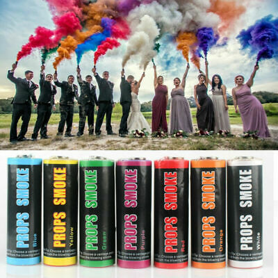 Colorful Smoke Tube Round Effect Show Background Photography Videos