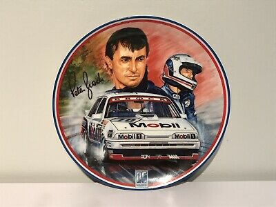 Peter Brock Ltd Ed Plate Numbered Triumph Of The Dinosaur