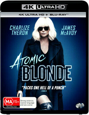 Atomic Blonde (4K UHD/Blu-ray/UV)  - BLU-RAY - NEW Region B