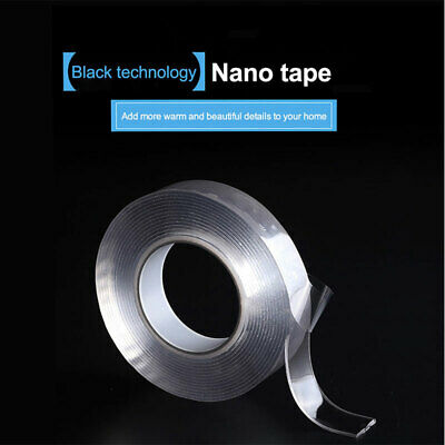 Traceless Double Side Nano Tape Adhesive Gel Tape Sticky Pads Heavy Duty Grip