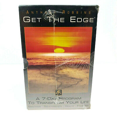 NEW Anthony Robbins Get The Edge 7 Day Program Audio CDs Motivation Complete