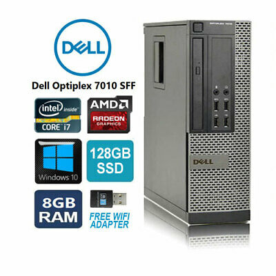 Dell OptiPlex 790 SFF Desktop PC Core i5-2100 3.1GHz 4GB 500GB with WiFi Adapter