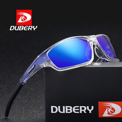 DUBERY Mens Polarized Sunglasses Driving Outdoor Sport UV400 Women Skiing Hot
