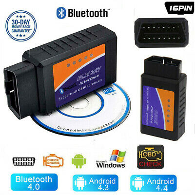 ELM327 OBDII OBD2 Bluetooth Car Scanner Torque Android CAN BUS Auto