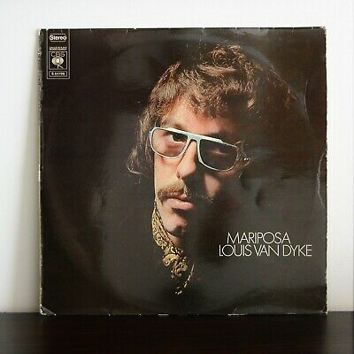 LOUIS VAN DYKE Mariposa CBS LP HOLLAND '71 Dutch Jazz Jobim etc