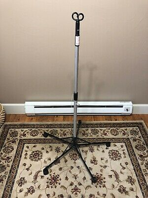 Pitch-It by Sharps Foldable Portable IV Pole Stand Double Hook  30006 - VGC