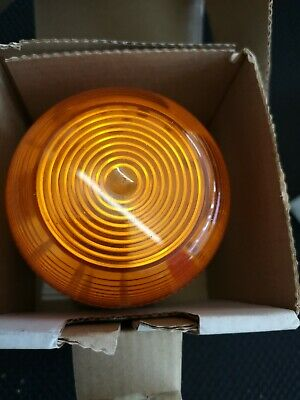 Klaxon 1W Xenon Flashguard Beacon with Amber Lens 12/24v DC - 45-713321