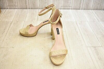 competitive price best service timeless design NINE WEST DEMPSEY Heeled Sandal - Women's Size 11M, Gold ...