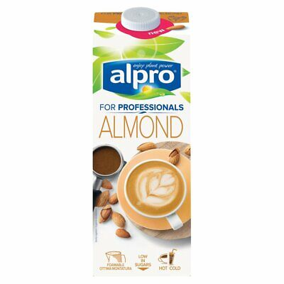 Alpro Almond for Professionals 1L (Pack of 12)