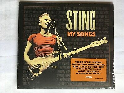 Sting - My Songs - Standard - Police CD NEW & Sealed, BW2