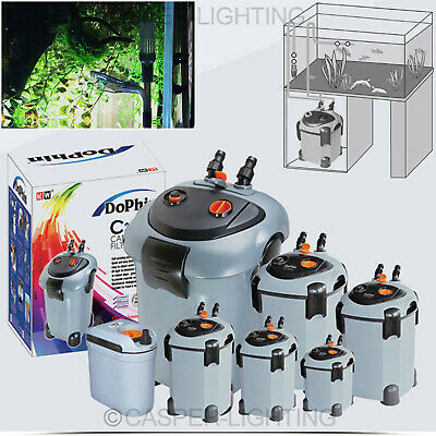 Dophin Marine Aquarium Fish Tank EF External Filter System With Media Models
