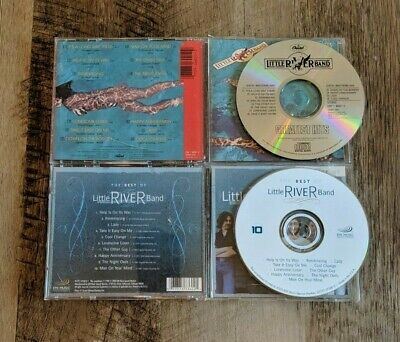 Little River Band CD Lot - Greatest Hits and The Best Of
