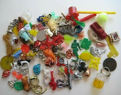 Vintage Junk Drawer Cracker Jack~Gumball Charms & Small Toy Prize Lot C