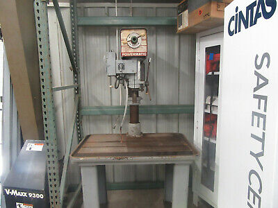 Powermatic DRILL  PRESS M#1200 Lg Variable Speed REVERSIBLE 3 PHASE
