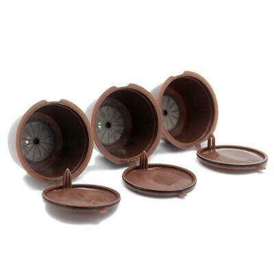 3Pcs Rechargeable réutilisable Nescafe Capsule Eco-Friendly Single Coffee N2N7
