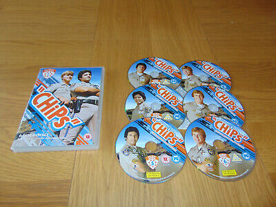 Chips The Complete First Season Series 1 One  (DVD 6-Disc Box Set)