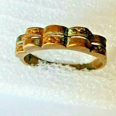Medieval Ancient Vintage Ring Bronze Beautiful Old