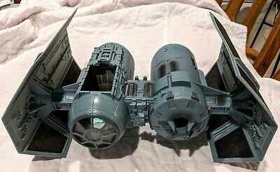 2010 Star Wars Tie Bomber Fighter Ship Toy Collectable Lucas film Hasbro