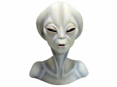 Ancient Aliens Bust Statue Asgard Roswell Area 51 UFO Female Head Life Size Prop