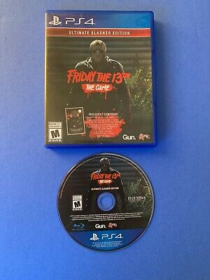 Friday The 13th Ultimate Slasher Edition (Sony PlayStation 4, 2018) PS4