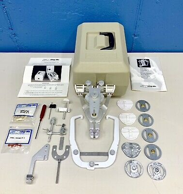 Whip Mix Dental / Lab Adjustable Articulator Model 2240 With Accessories & Case